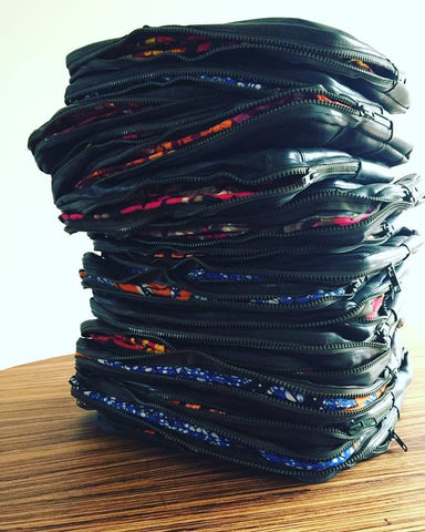 stack of sleeves