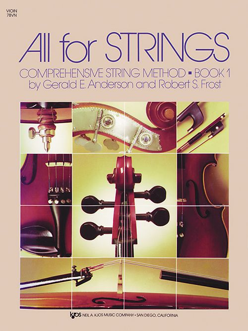 All for Strings, Lesson 1 - Cello