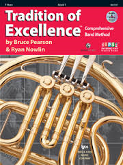 Tradition Of Excellence: French Horn Book 1