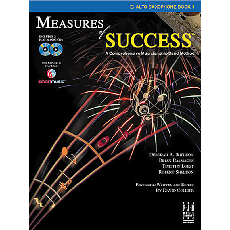 Measures Of Success: Alto Saxophone Book 1