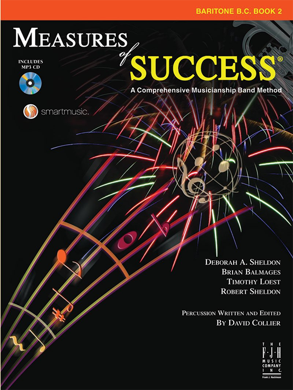 Measures Of Success: Baritone B.C./Euphonium Book 2
