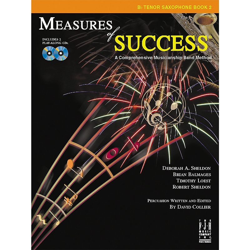 Measures Of Success: Tenor Saxophone Book 2