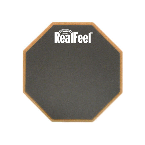 "Real Feel 6"" Drum Practice Pad  (Mountable)"