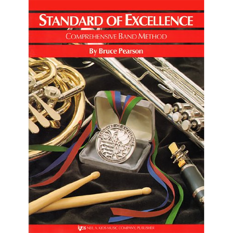 Standard Of Excellence: Baritone B.C./Euphonium Book 1