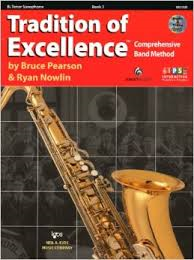 Tradition Of Excellence: Tenor Saxophone Book 1