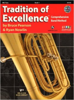 Tradition Of Excellence: Tuba Book 1