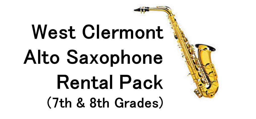 West Clermont Alto Saxophone Rental Package (7th & 8th Grades)
