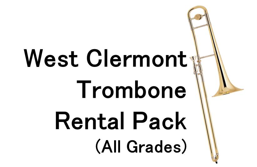 West Clermont Trombone Rental Package (All Grades)