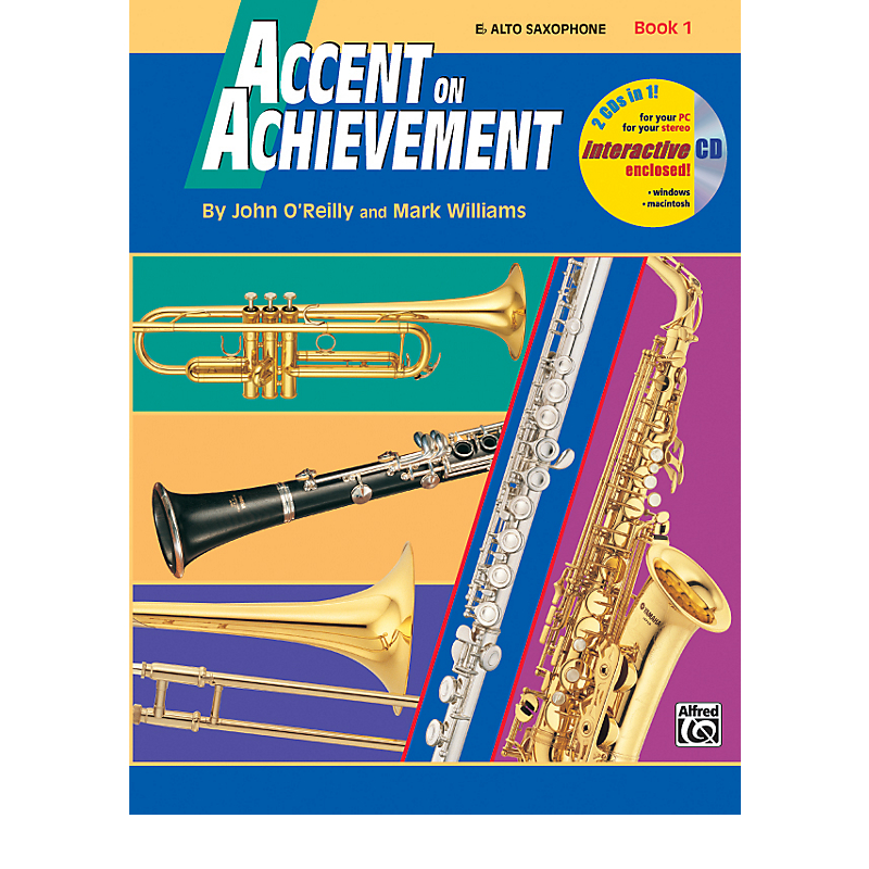 Accent On Achievement: Alto Saxophone Book 1