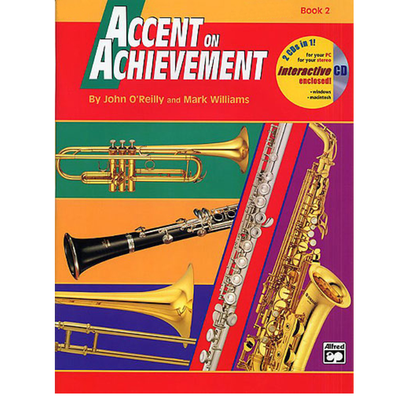 Accent On Achievement: Alto Saxophone Book 2