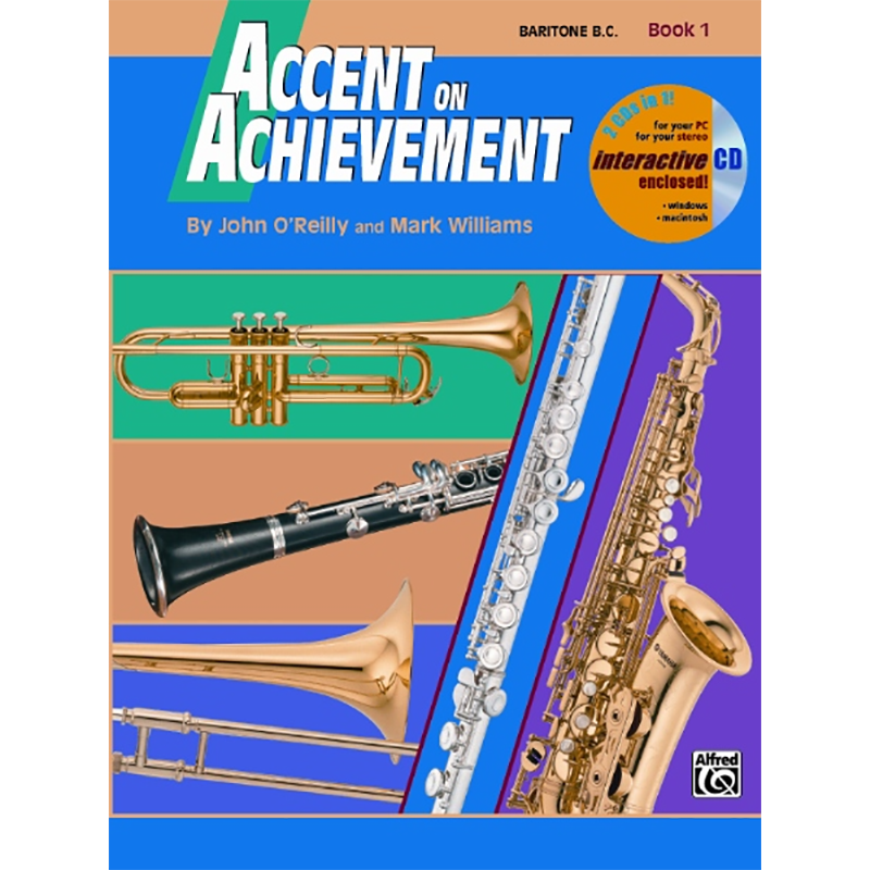 Accent On Achievement: Baritone Book 1