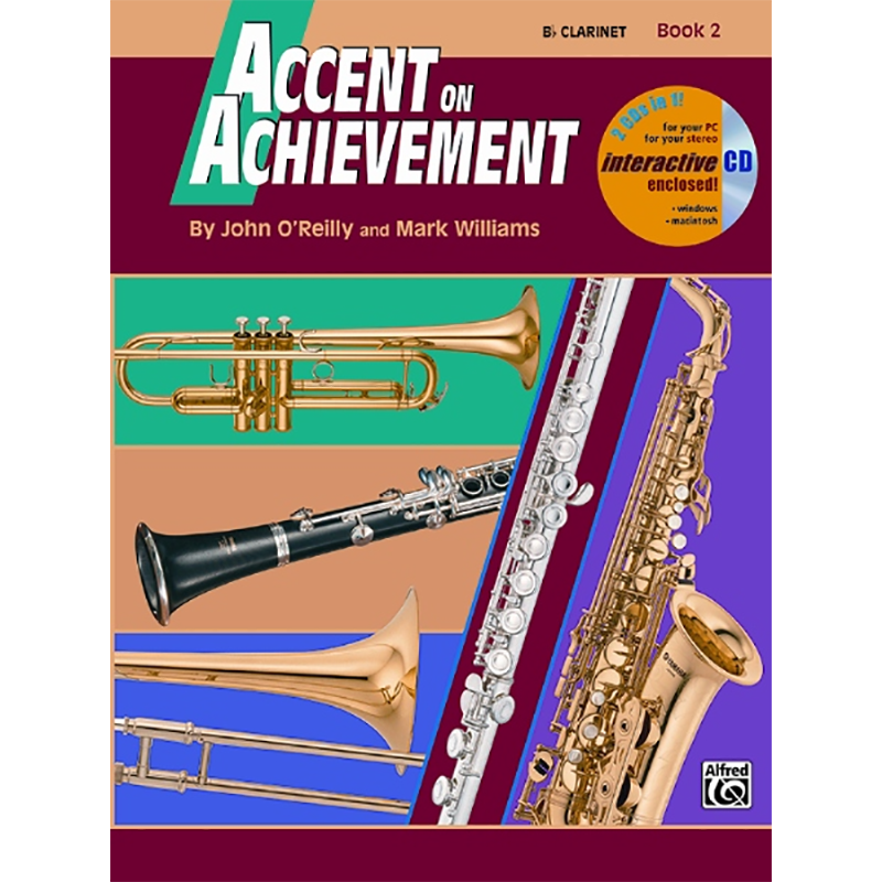 Accent On Achievement: Clarinet Book 2