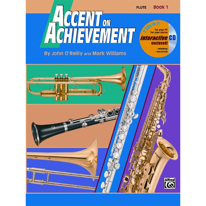 Accent On Achievement: Flute Book 1