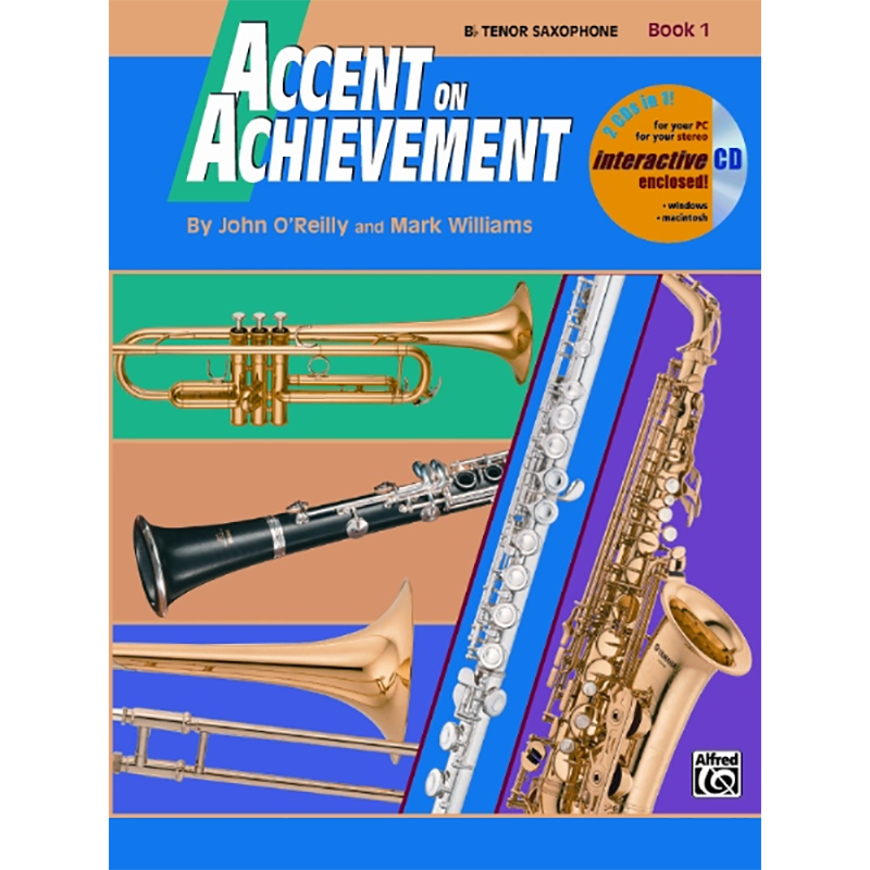 Accent On Achievement: Tenor Saxophone Book 1