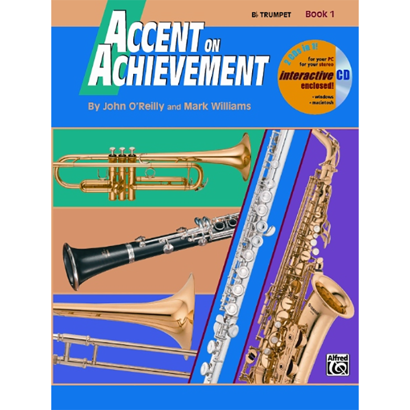 Accent On Achievement: Trumpet Book 1