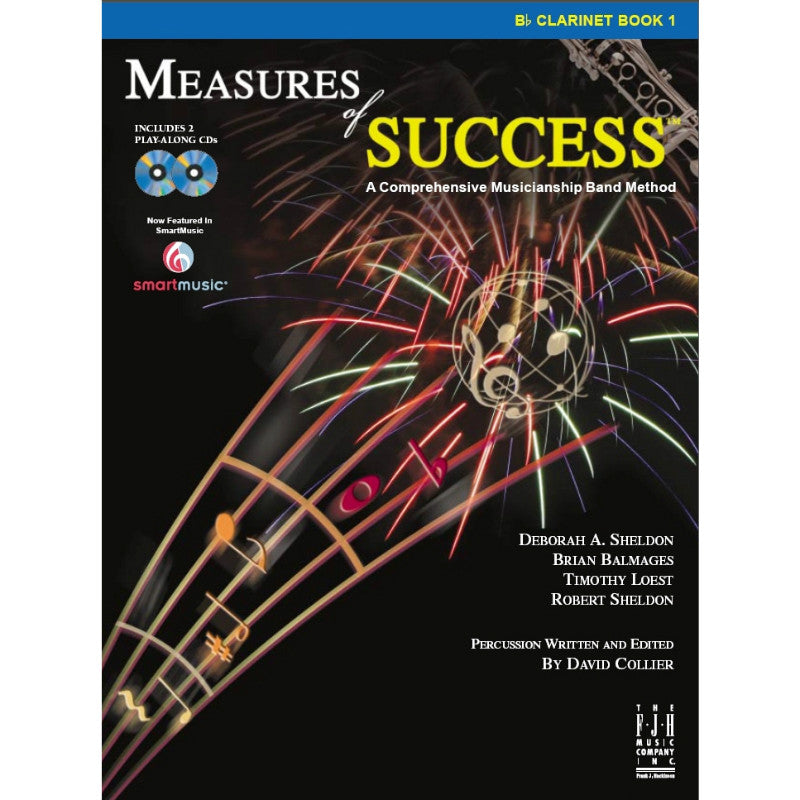 Measures Of Success: Clarinet Book 1