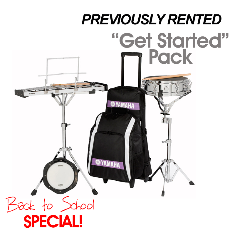 "Drum & Bell Combo Kit: Previously Rented ""Get Started Pack"" Special"