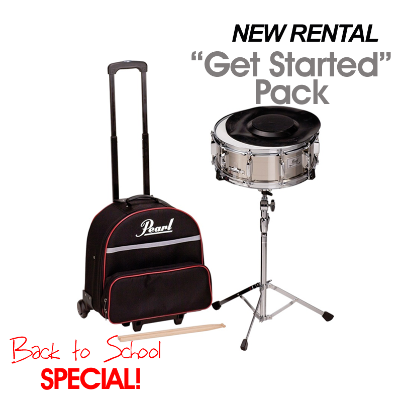 "Drum Kit: New Rental ""Get Started Pack"" Special"