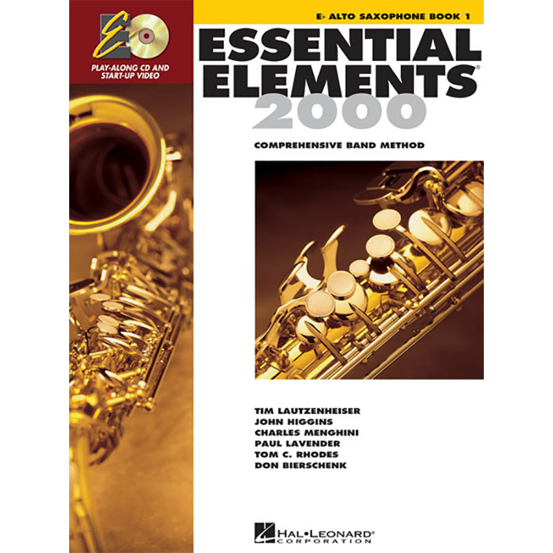 Essential Elements 2000: Alto Saxophone Book 1