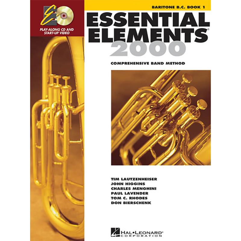 Essential Elements 2000: Baritone B.C./Euphonium Book 1