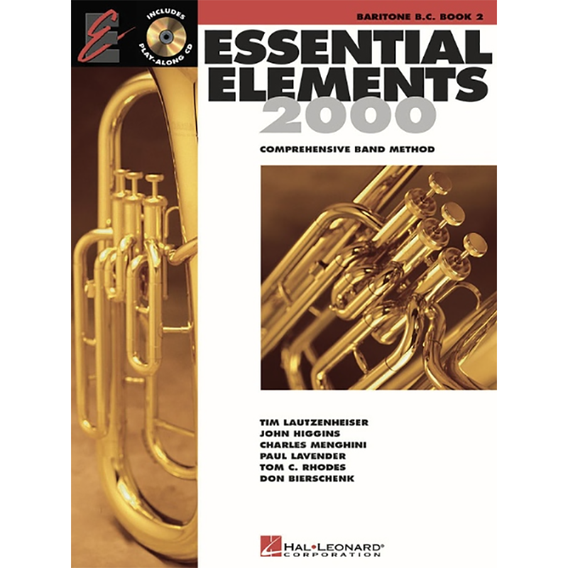 Essential Elements 2000: Baritone B.C./Euphonium Book 2