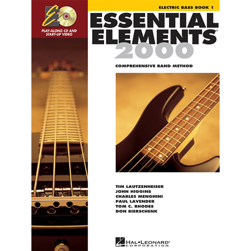 Essential Elements 2000: Bass Book 1