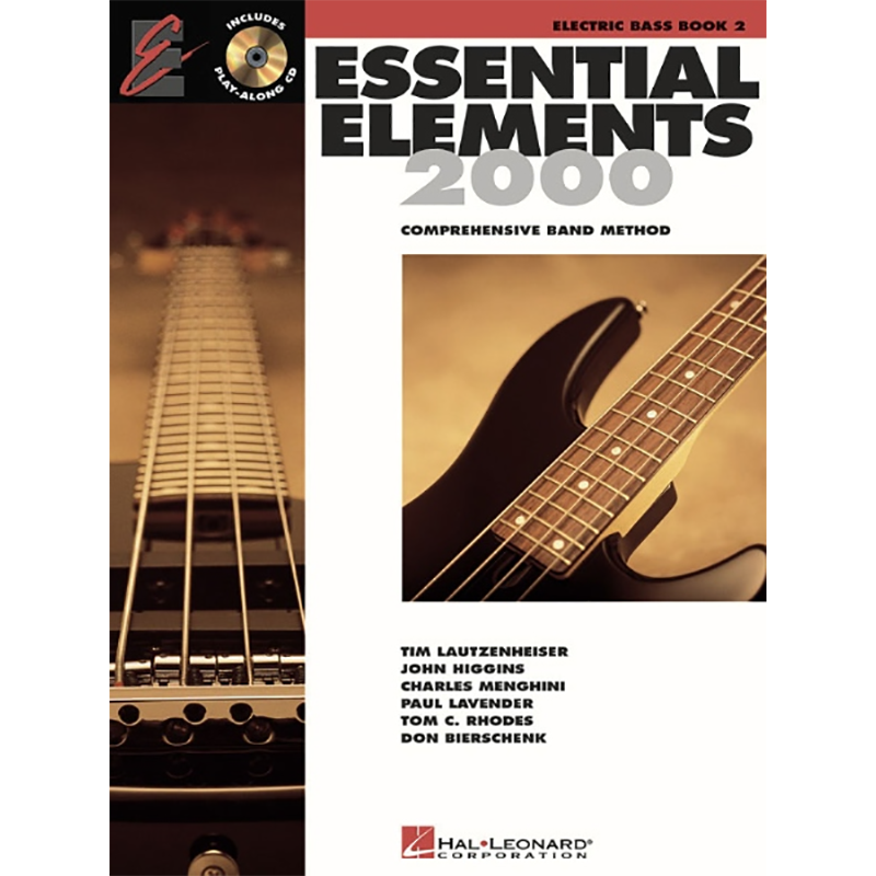 Essential Elements 2000: Bass Book 2