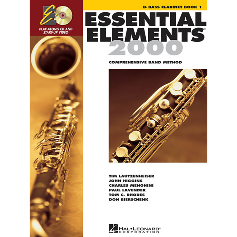 Essential Elements 2000: Bass Clarinet Book 1