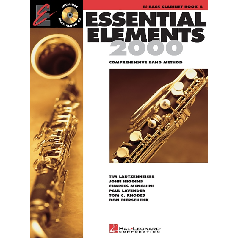 Essential Elements 2000: Bass Clarinet Book 2
