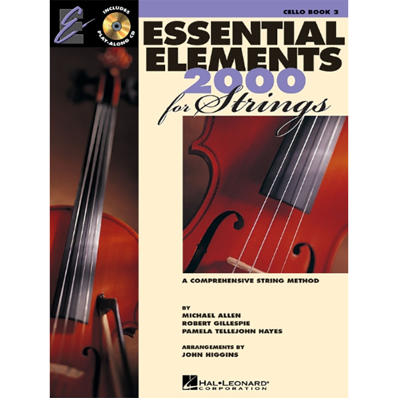 Essential Elements 2000: Cello Book 2