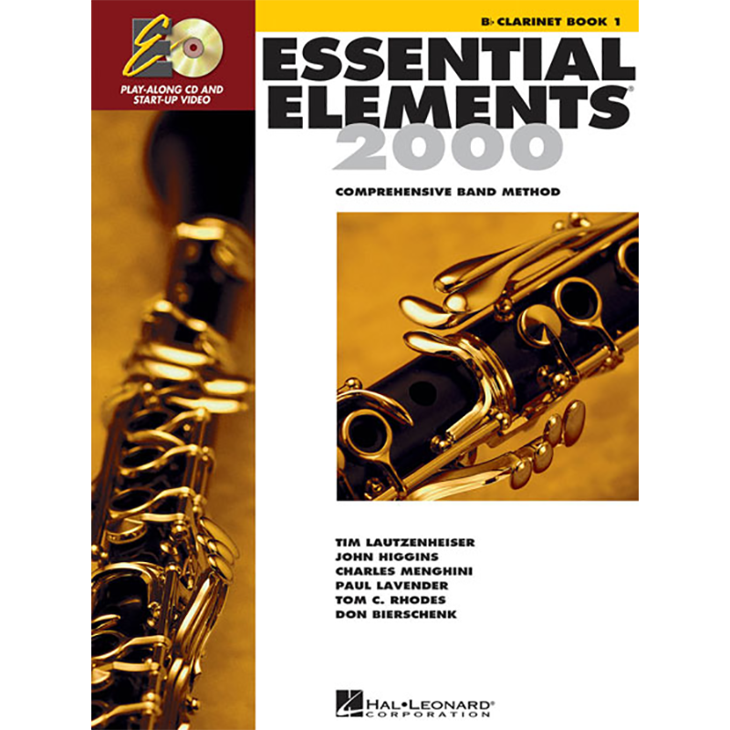 Essential Elements 2000: Clarinet Book 1
