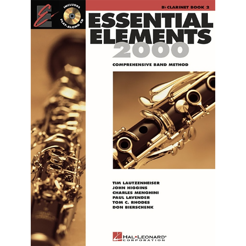 Essential Elements 2000: Clarinet Book 2