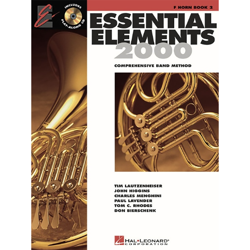 Essential Elements 2000: French Horn Book 2