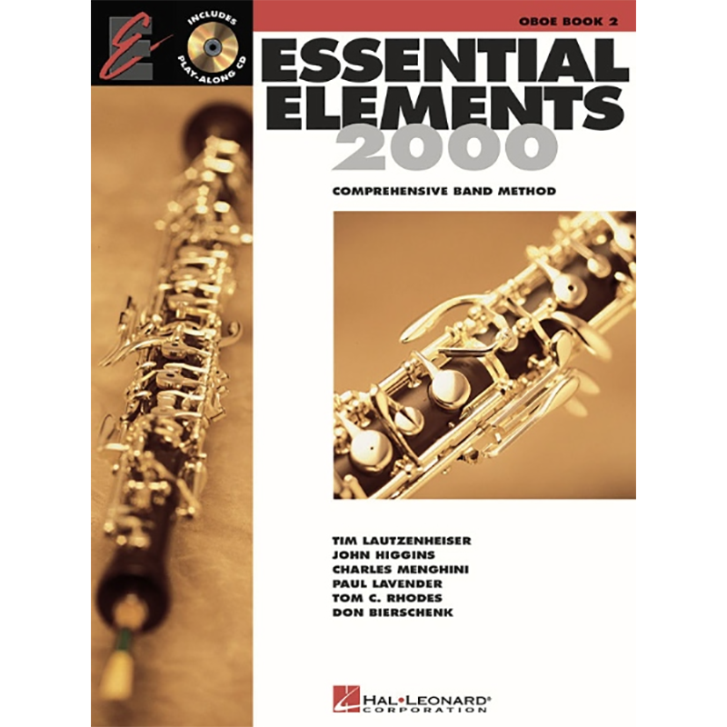 Essential Elements 2000: Oboe Book 2