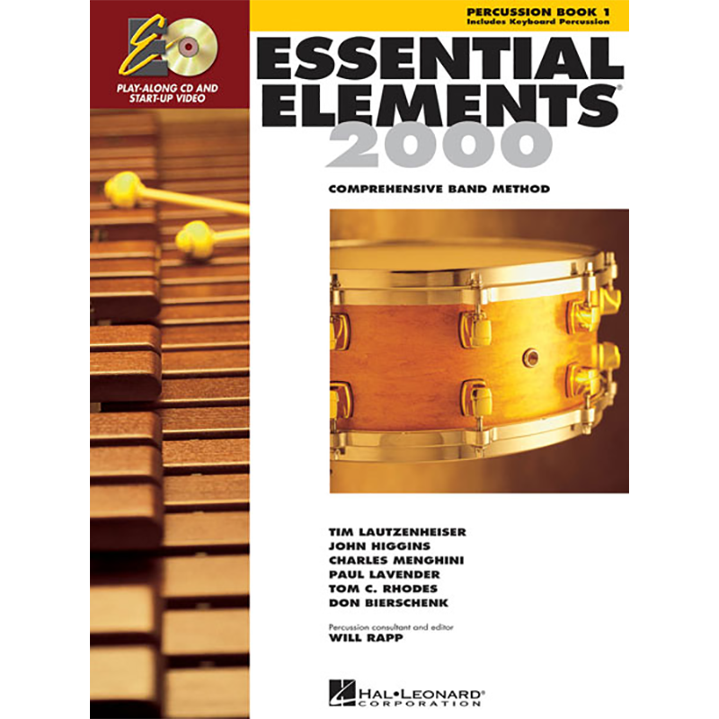 Essential Elements 2000: Percussion Book 1