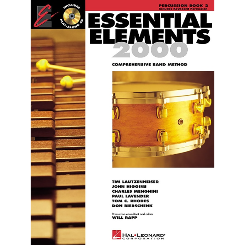 Essential Elements 2000: Percussion Book 2