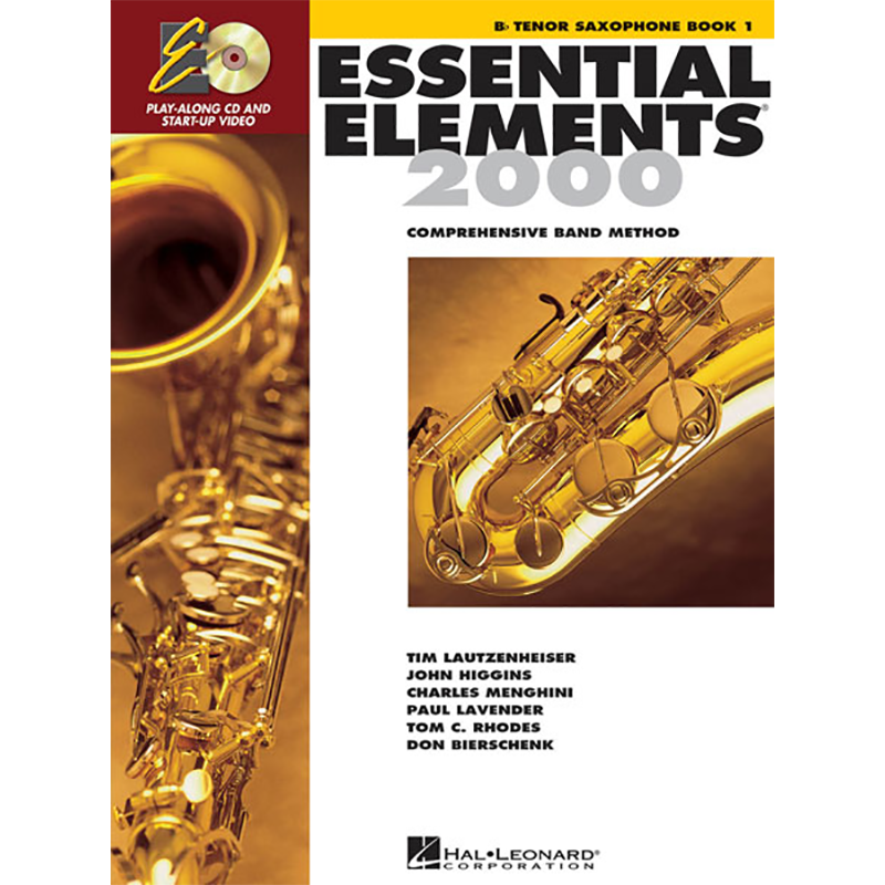 Essential Elements 2000: Tenor Saxophone Book 1