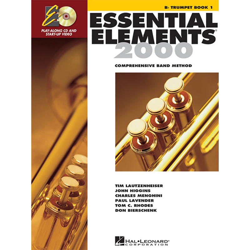 Essential Elements 2000: Trumpet/Cornet Book 1