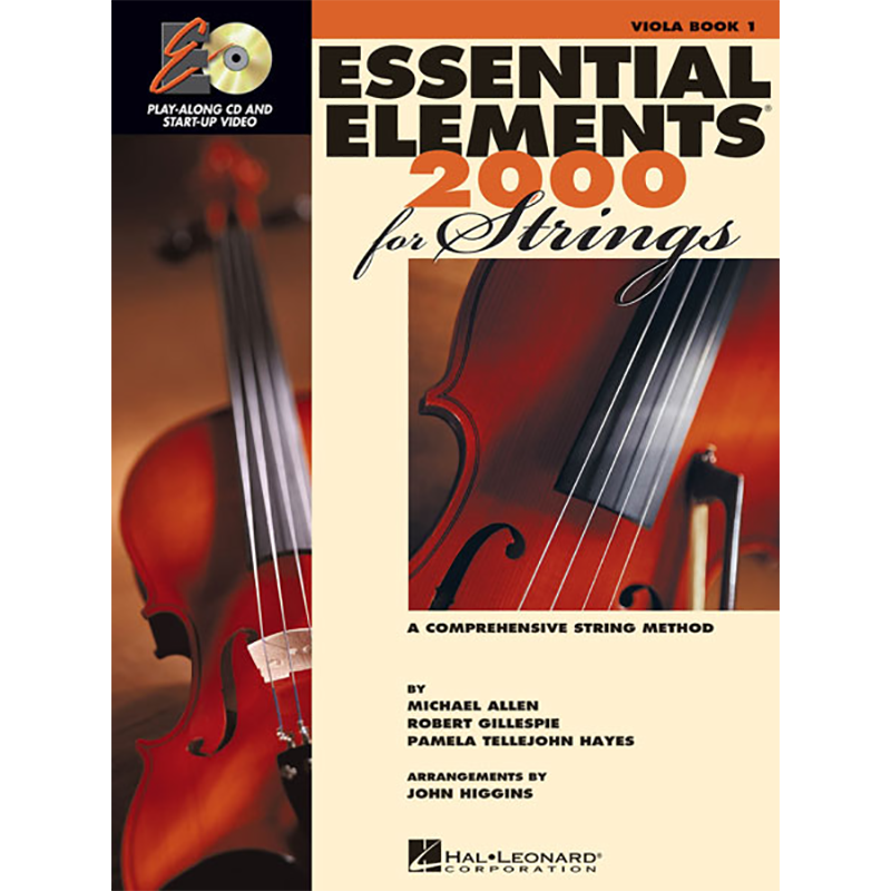 Essential Elements 2000: Viola Book 1