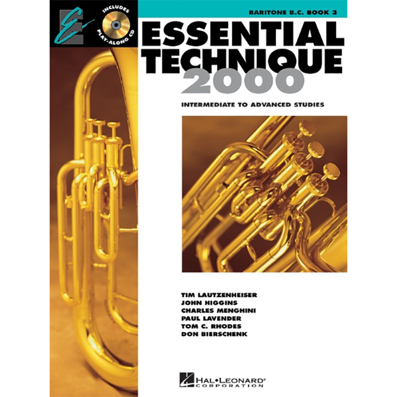 Essential Technique: Baritone B.C./Euphonium Book 3