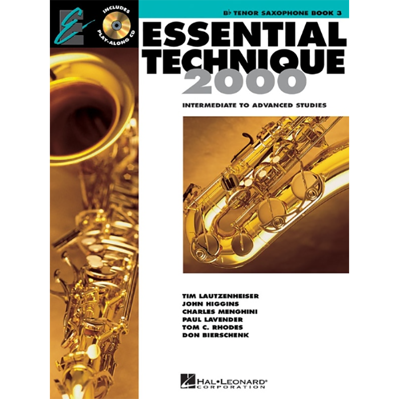 Essential Technique: Tenor Saxophone Book 3