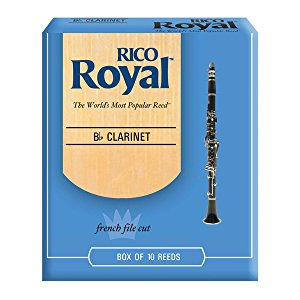 Rico Royal Bass Clarinet Reeds (Box Of 10)