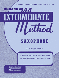 Rubank Intermediate Method: Saxophone