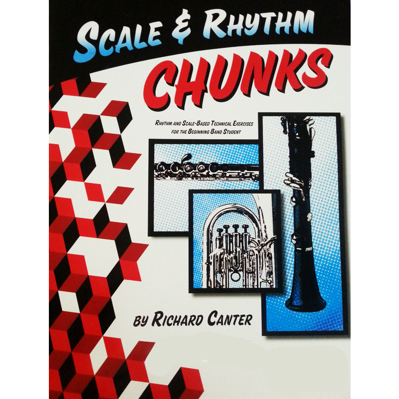 Scale And Rhythm Chunks: Bass Clarinet