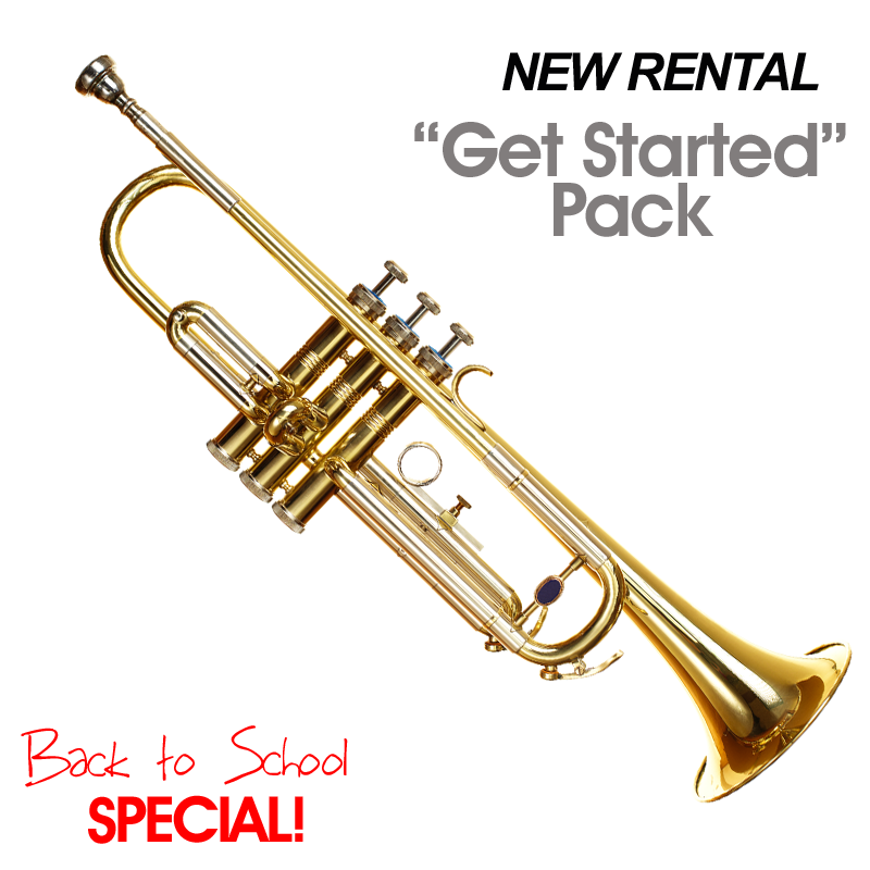 "Trumpet: New Rental ""Get Started Pack"" Special"