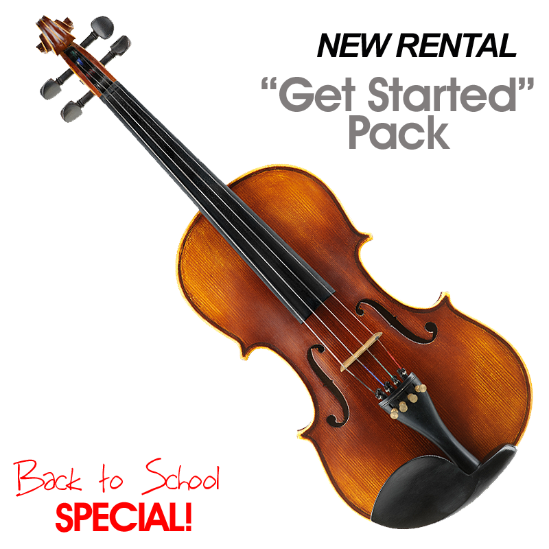 "Violin: New Rental ""Get Started Pack"" Special"