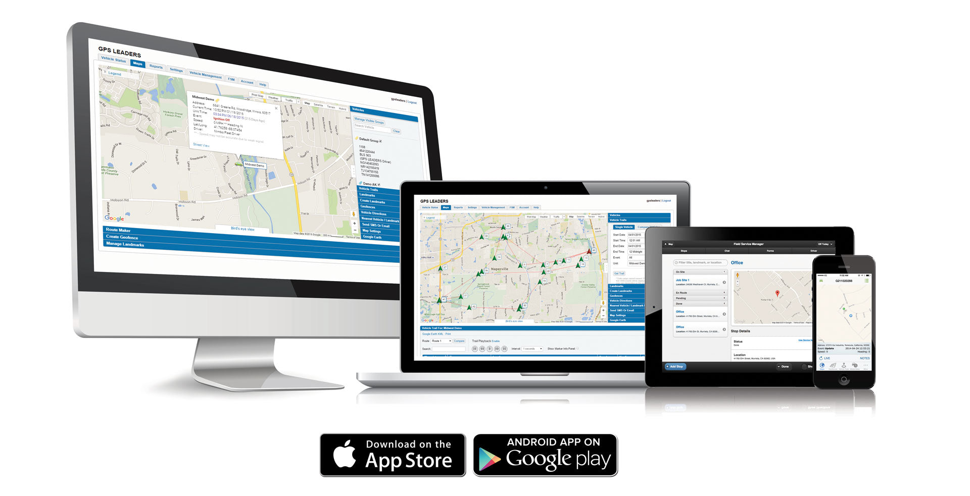 GPS LEADERS - REAL TIME TRACKING SOLUTIONS - Scandtechusa.com