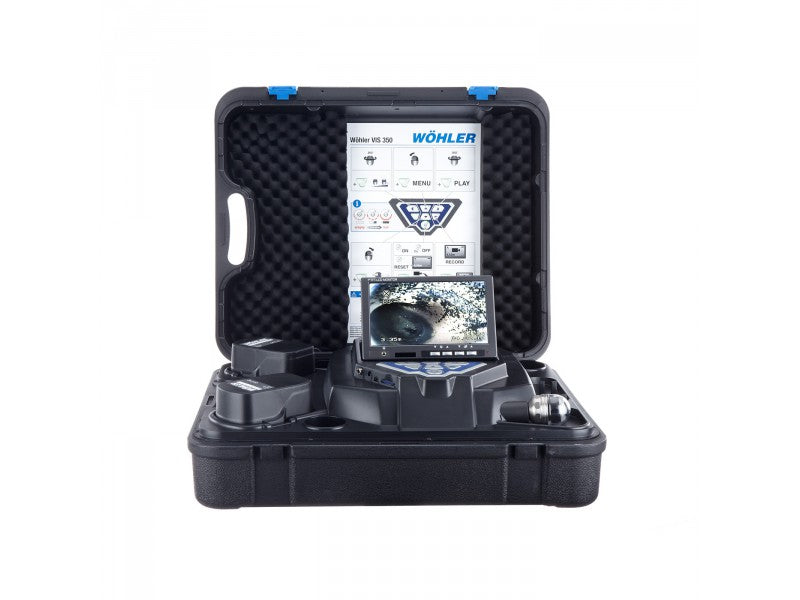 WOHLER VIS 350D+1  PAN-TILT CAMERA WITH WOHLER L 200 LOCATOR