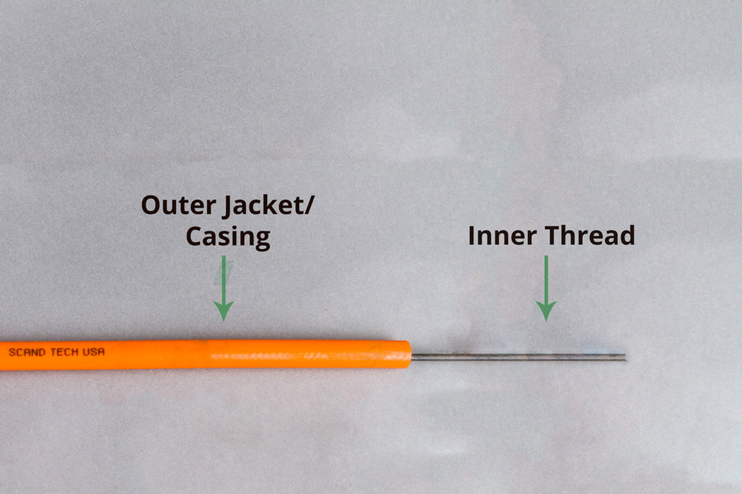 Orange Outer Jacket for Rotating Cable- Replacement Casing