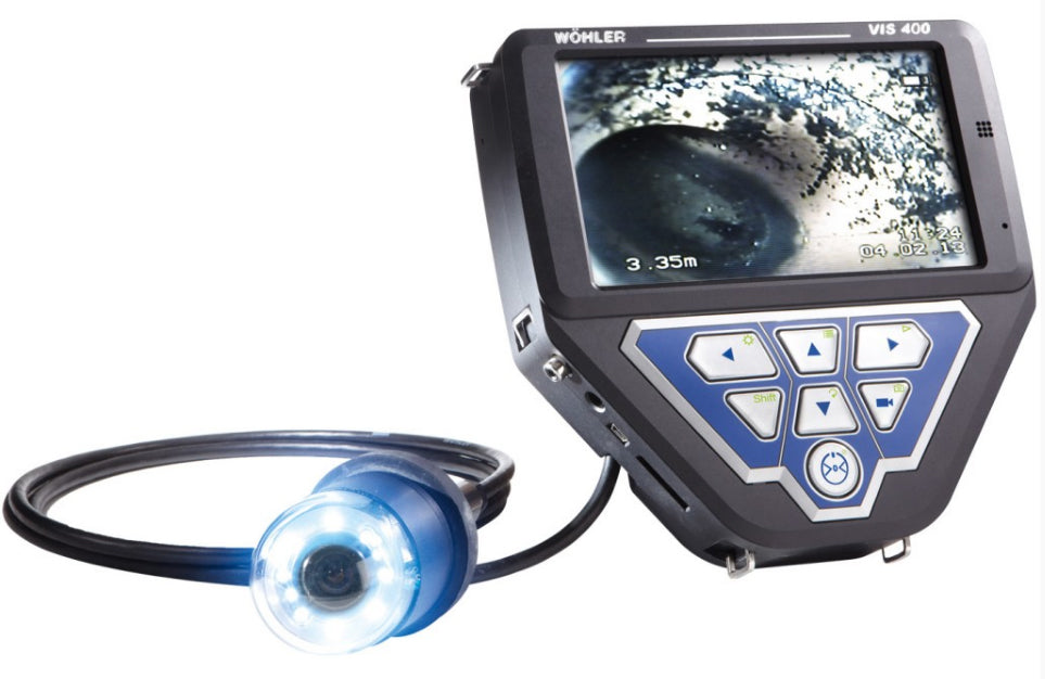 Wohler VIS 400 Visual Inspection Camera (NTSC STANDARD KIT)
